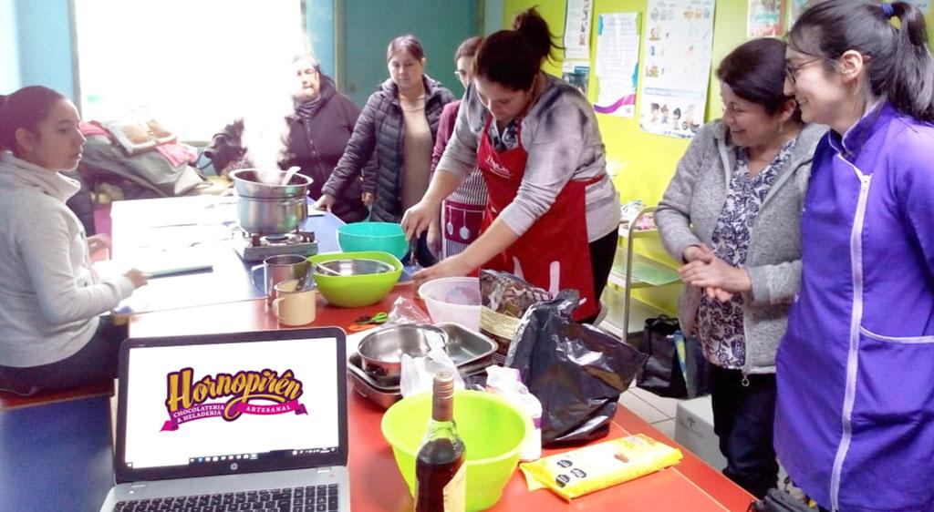 Primer taller de Chocolatería