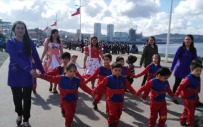 Desfile de las Glorias del ejército